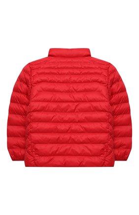 Детский утепленная куртка POLO RALPH LAUREN красного цвета, арт. 322847233 | Фото 2