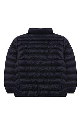 Детский утепленная куртка POLO RALPH LAUREN темно-синего цвета, арт. 322847233 | Фото 2