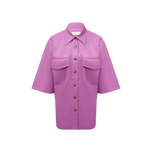 Рубашка из экокожи Nanushka
