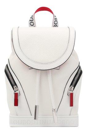Женский рюкзак explorafunk small CHRISTIAN LOUBOUTIN белого цвета, арт. 3215039/EXPL0RAFUNK S SMALL | Фото 1