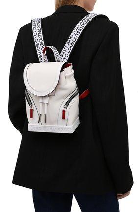 Женский рюкзак explorafunk small CHRISTIAN LOUBOUTIN белого цвета, арт. 3215039/EXPL0RAFUNK S SMALL | Фото 2