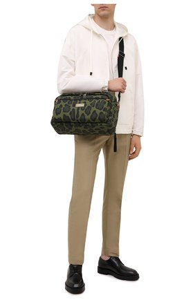 Мужская текстильная сумка DOLCE & GABBANA зеленого цвета, арт. BM1955/A0885 | Фото 2