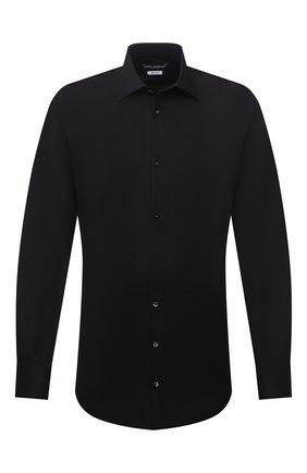 Мужская хлопковая сорочка DOLCE & GABBANA черного цвета, арт. G5EN5T/FU5K9 | Фото 1