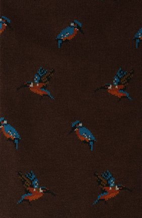 Мужские носки PANTHERELLA темно-коричневого цвета, арт. YS4068 | Фото 2