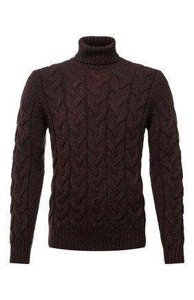 Мужской шерстяной свитер GRAN SASSO темно-коричневого цвета, арт. 13131/22610   Фото 1