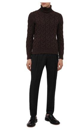 Мужской шерстяной свитер GRAN SASSO темно-коричневого цвета, арт. 13131/22610   Фото 2