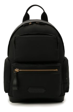 Мужской текстильный рюкзак TOM FORD черного цвета, арт. H0460T-TNY005 | Фото 1 (Материал: Текстиль)