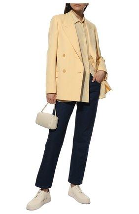 Женские джинсы THE ROW темно-синего цвета, арт. 5662W2018 | Фото 2