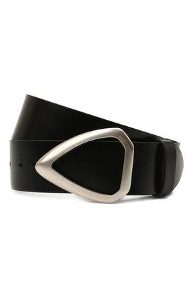 Женский кожаный ремень ISABEL MARANT черного цвета, арт. CE0485-21A042A/IDIANI | Фото 1