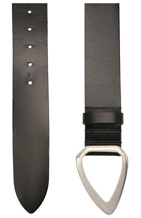 Женский кожаный ремень ISABEL MARANT черного цвета, арт. CE0485-21A042A/IDIANI | Фото 2