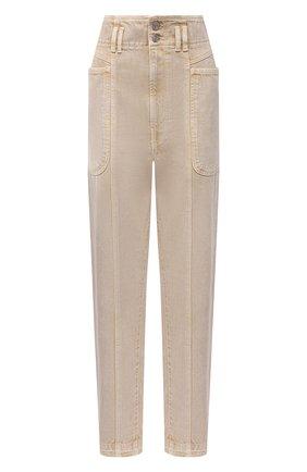Женские джинсы ISABEL MARANT ETOILE бежевого цвета, арт. PA1949-21A017E/TESS | Фото 1