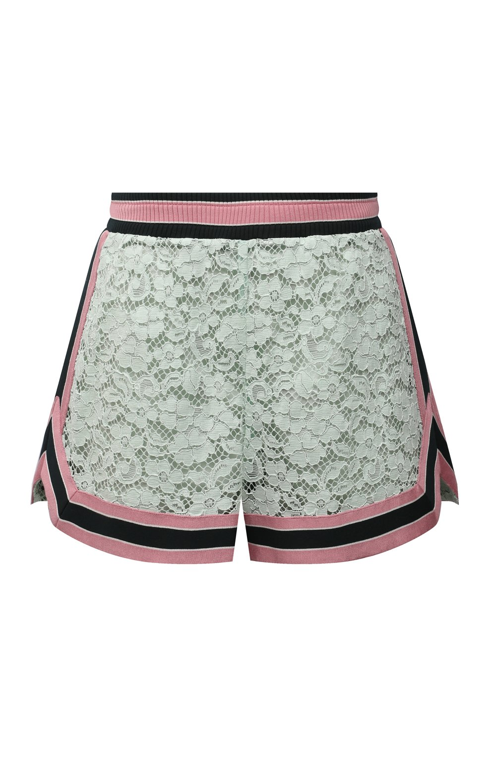 Женские хлопковые шорты DOLCE & GABBANA разноцветного цвета, арт. FTB6CT/FLMY1 | Фото 1 (Женское Кросс-КТ: Шорты-одежда; Длина Ж (юбки, платья, шорты): Мини; Материал внешний: Хлопок; Стили: Спорт-шик; Материал подклада: Шелк)