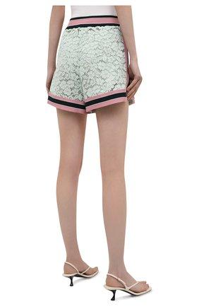 Женские хлопковые шорты DOLCE & GABBANA разноцветного цвета, арт. FTB6CT/FLMY1 | Фото 4 (Женское Кросс-КТ: Шорты-одежда; Длина Ж (юбки, платья, шорты): Мини; Материал внешний: Хлопок; Стили: Спорт-шик; Материал подклада: Шелк)