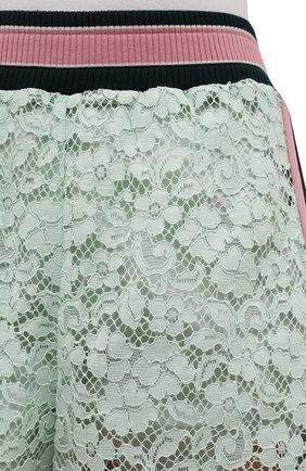 Женские хлопковые шорты DOLCE & GABBANA разноцветного цвета, арт. FTB6CT/FLMY1 | Фото 5 (Женское Кросс-КТ: Шорты-одежда; Длина Ж (юбки, платья, шорты): Мини; Материал внешний: Хлопок; Стили: Спорт-шик; Материал подклада: Шелк)