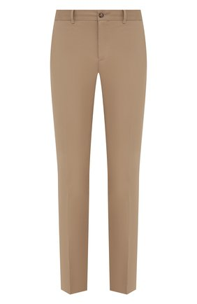 Мужские хлопковые брюки RALPH LAUREN бежевого цвета, арт. 790588859 | Фото 1 (Материал внешний: Хлопок; Длина (брюки, джинсы): Стандартные; Случай: Повседневный)