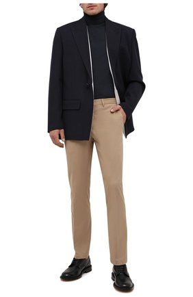 Мужские хлопковые брюки RALPH LAUREN бежевого цвета, арт. 790588859   Фото 2 (Материал внешний: Хлопок; Длина (брюки, джинсы): Стандартные; Случай: Повседневный)