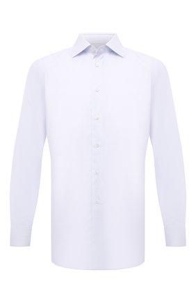 Мужская хлопковая сорочка BRIONI светло-голубого цвета, арт. RCA10M/0906Z   Фото 1