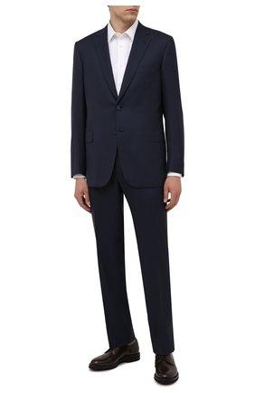 Мужской шерстяной костюм BRIONI темно-синего цвета, арт. RA0J1L/01A4D/BRUNIC0 | Фото 1
