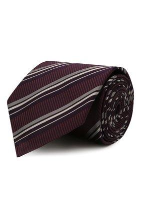 Мужской шелковый галстук BRIONI бордового цвета, арт. 062I00/01417   Фото 1