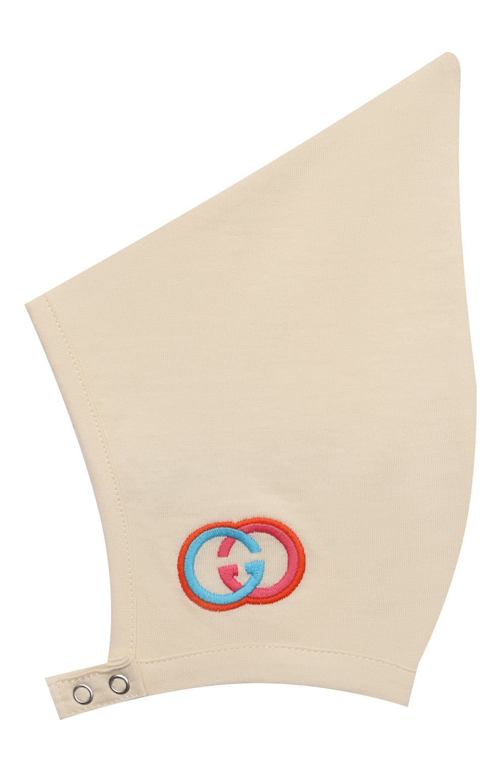 Детского комплект из трех предметов GUCCI кремвого цвета, арт. 663519/XJDNR   Фото 6 (Ростовка одежда: 0 - 3 мес   50 - 60 см, 3 мес   62 см, 9 мес   74 см)