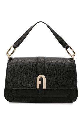 Женская сумка sofia small FURLA черного цвета, арт. WB00094/HSF000   Фото 1