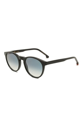 Женские солнцезащитные очки LORO PIANA черного цвета, арт. FAL0261   Фото 1 (Тип очков: С/з; Очки форма: Круглые)