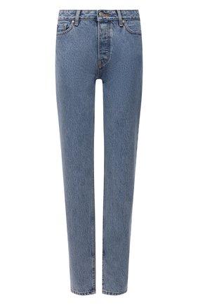 Женские джинсы GANNI голубого цвета, арт. F5721 | Фото 1