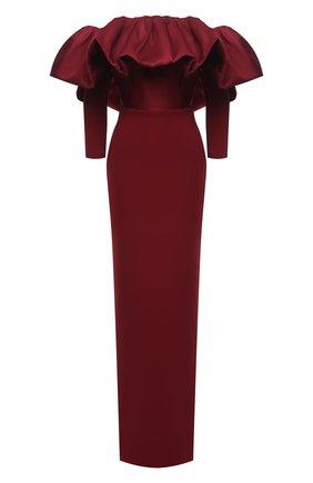 Женское платье SOLACE бордового цвета, арт. 0S29050 | Фото 1