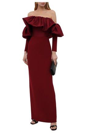 Женское платье SOLACE бордового цвета, арт. 0S29050 | Фото 2