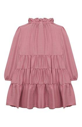 Детское платье IL GUFO темно-розового цвета, арт. A21VL442R0001/2A-4A | Фото 2