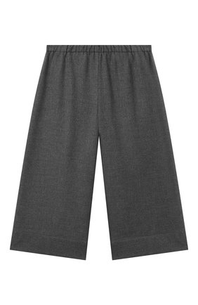 Детские брюки IL GUFO серого цвета, арт. A21PL242WR003/5A-8A | Фото 1