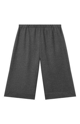Детские брюки IL GUFO серого цвета, арт. A21PL242WR003/2A-4A | Фото 1