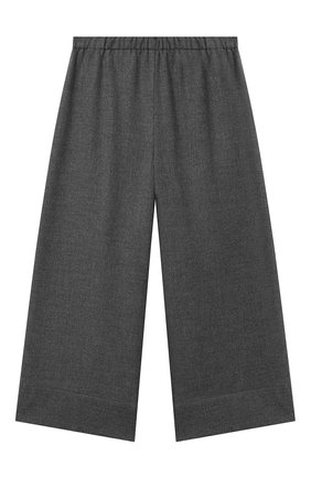 Детские брюки IL GUFO серого цвета, арт. A21PL242WR003/10A-12A | Фото 1