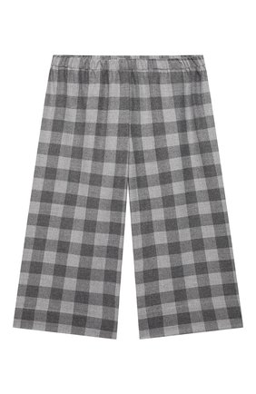 Детские брюки IL GUFO серого цвета, арт. A21PL242W3R51/5A-8A | Фото 1