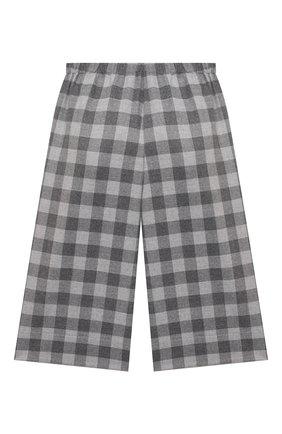 Детские брюки IL GUFO серого цвета, арт. A21PL242W3R51/5A-8A | Фото 2