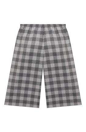 Детские брюки IL GUFO серого цвета, арт. A21PL242W3R51/2A-4A | Фото 2