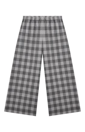 Детские брюки IL GUFO серого цвета, арт. A21PL242W3R51/10A-12A | Фото 1