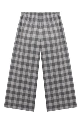 Детские брюки IL GUFO серого цвета, арт. A21PL242W3R51/10A-12A | Фото 2