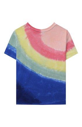 Детская хлопковая футболка POLO RALPH LAUREN разноцветного цвета, арт. 312841394 | Фото 2