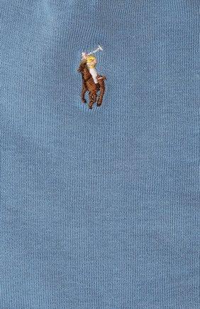 Женские носки POLO RALPH LAUREN голубого цвета, арт. 455843974 | Фото 2