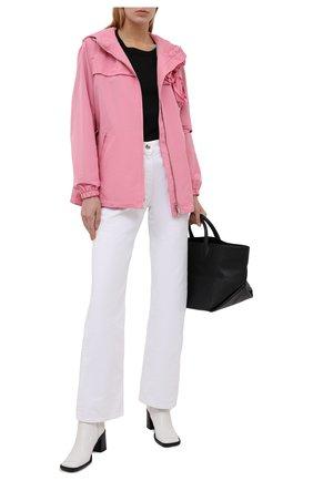 Женская ветровка VALENTINO розового цвета, арт. WB3CJ2454H2   Фото 2 (Материал внешний: Синтетический материал, Хлопок; Материал подклада: Синтетический материал; Стили: Романтичный; Кросс-КТ: Ветровка, Куртка; Рукава: Длинные; Длина (верхняя одежда): До середины бедра)