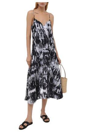 Женское платье MARYAN MEHLHORN черно-белого цвета, арт. M3041 | Фото 2