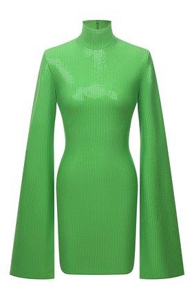Женское платье с пайетками SOLACE зеленого цвета, арт. 0S29038 | Фото 1