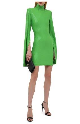 Женское платье с пайетками SOLACE зеленого цвета, арт. 0S29038 | Фото 2