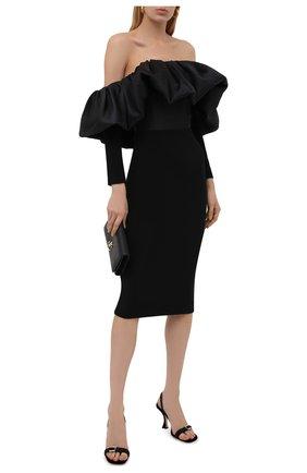 Женское платье SOLACE черного цвета, арт. 0S29058 | Фото 2