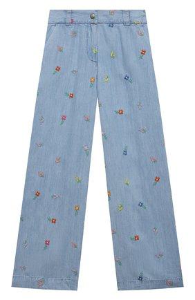 Детские джинсы STELLA MCCARTNEY голубого цвета, арт. 602751/SQKD1 | Фото 1