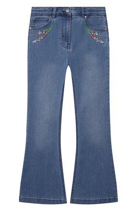 Детские джинсы STELLA MCCARTNEY синего цвета, арт. 602746/SQK11 | Фото 1