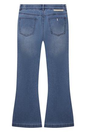 Детские джинсы STELLA MCCARTNEY синего цвета, арт. 602746/SQK11 | Фото 2