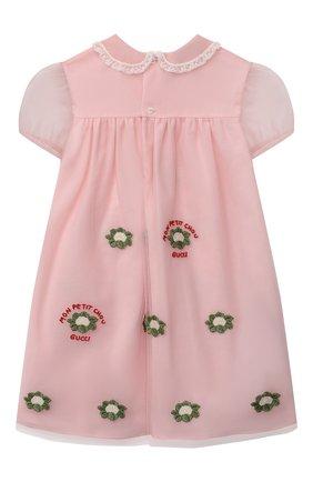 Женский платье GUCCI светло-розового цвета, арт. 662568/ZAHBF | Фото 2