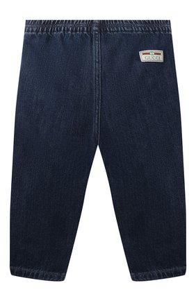 Детские джинсы GUCCI синего цвета, арт. 660204/XDB0Y | Фото 2
